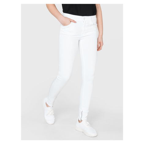 New Luz Jeans Replay Bílá