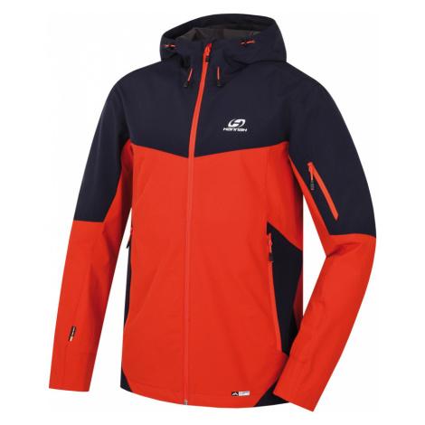 HANNAH SAWNEY Pánská sportovní bunda 10002745HHX01 Pureed pumpkin/black iris