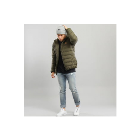 Urban Classics Basic Bubble Jacket tmavě olivová
