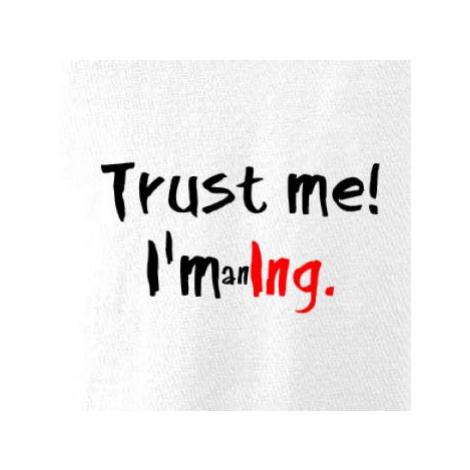 Trust me I´m an Ing. / Věř mi jsem Ing. - Dámská mikina trendy zippeer s kapucí