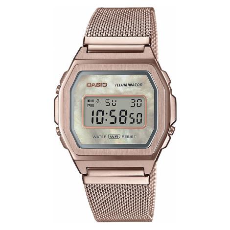 """Casio A1000MCG-9EF """"Vintage Premium"""" růžově zlaté"""