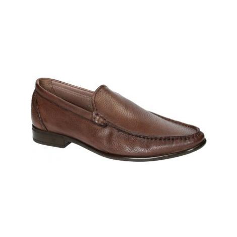 Leonardo Shoes 06943 12991 FORMA SCA CERVO BRANDY Hnědá