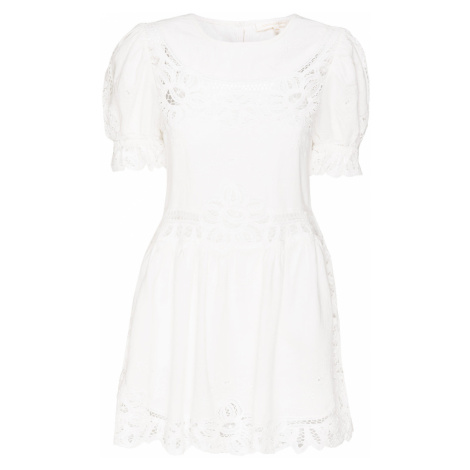 Šaty LoveShackFancy JULIE bílá