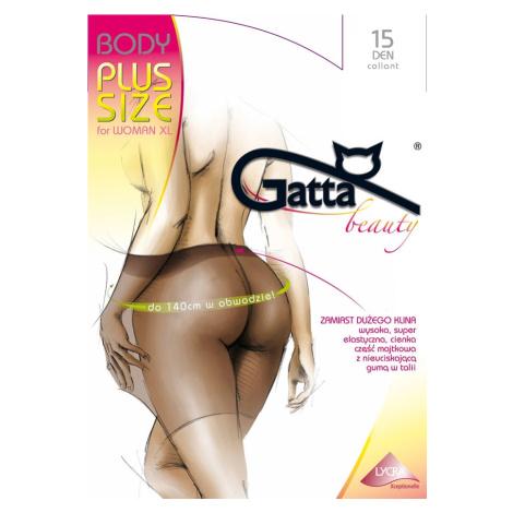 Dámské punčochové kalhoty Gatta Body Plus Size 15 den for Woman XL