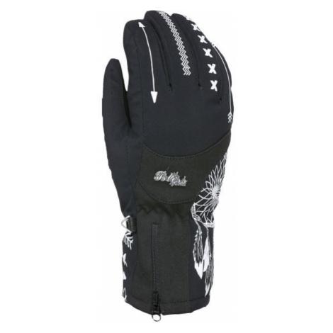 Level BLISS EMERALD GORE černá - Dámské lyžařské rukavice