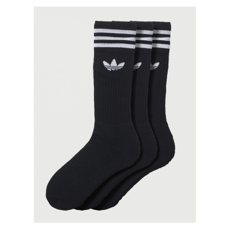 Ponožky adidas Originals SOLID CREW SOCK Černá