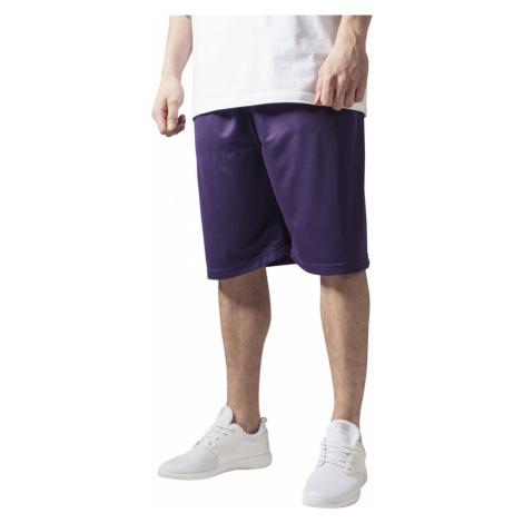 Bball Mesh Shorts - purple Urban Classics