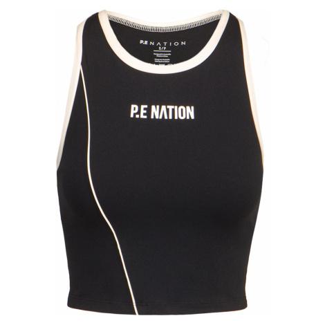 Sportovní top P.E Nation MATCH PLAY SPORTS černá PE Nation