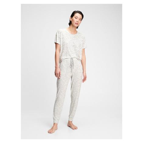 GAP bílé dámské domací kalhoty