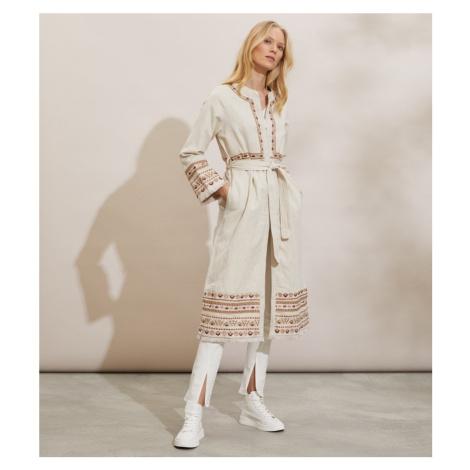 Kabát Odd Molly Pamela Coat - Hnědá