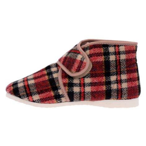 PEGRES, Domácí obuv  1036 multicolor EU 42