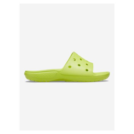 Classic Pantofle Crocs Žlutá