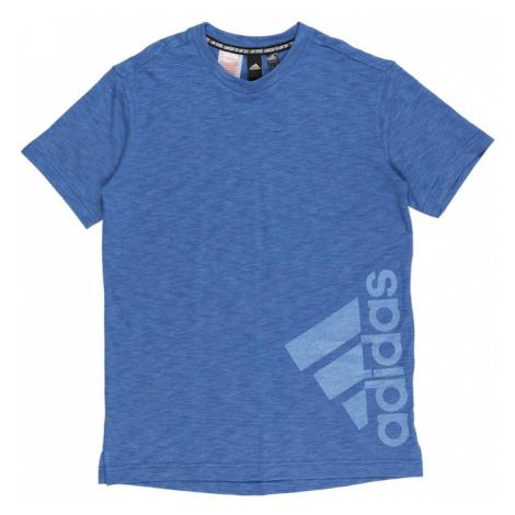 ADIDAS PERFORMANCE Funkční tričko 'SUM' modrá / světlemodrá