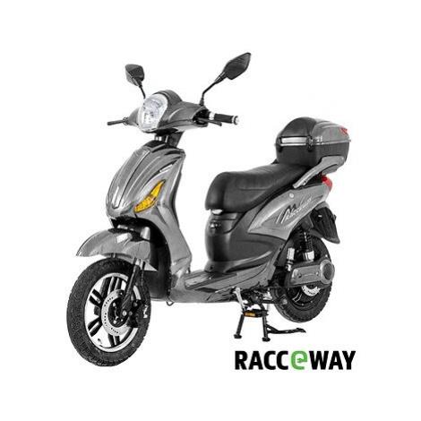 Racceway E-Moped, 12Ah, šedý-lesklý