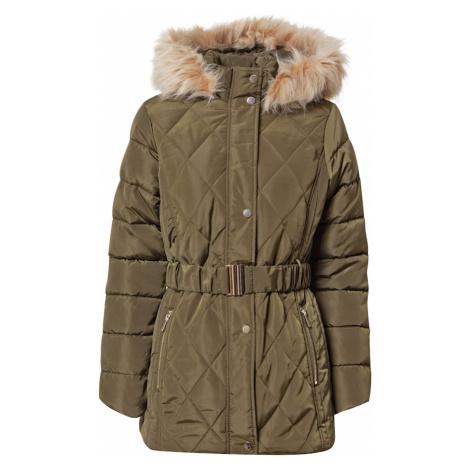 Dorothy Perkins Zimní bunda khaki / světle béžová / béžová