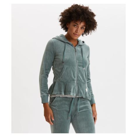 Mikina Odd Molly Hygge Jacket - Zelená
