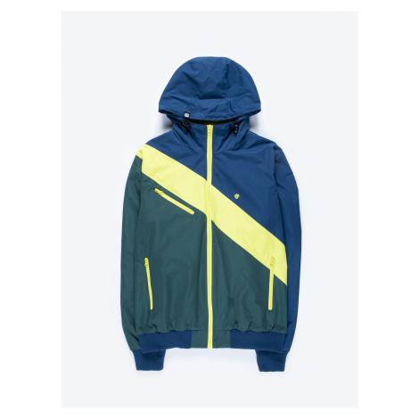 GATE Vícebarevná bunda s kapucí