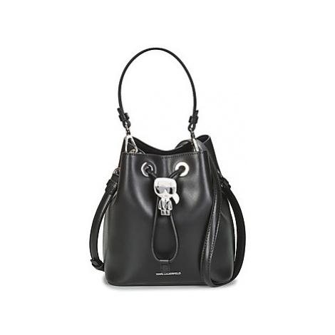 Karl Lagerfeld K/IKONIK BUCKET BAG Černá