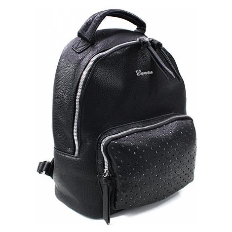 Černý dámský stylový praktický batoh Laurencia Mahel