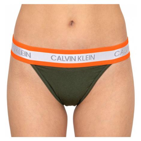 Dámske kalhotky Calvin Klein zelená (QF5571E-FDX)