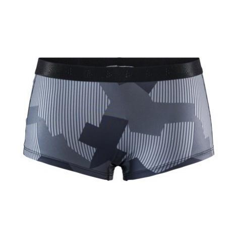Dámské boxerky CRAFT Greatness Waistband černá/šedá