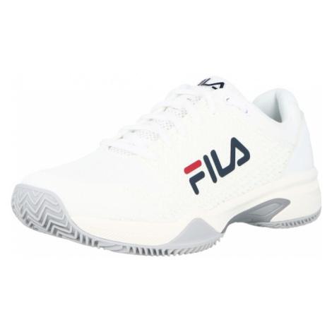 FILA Sportovní boty 'CAMPO' bílá / námořnická modř
