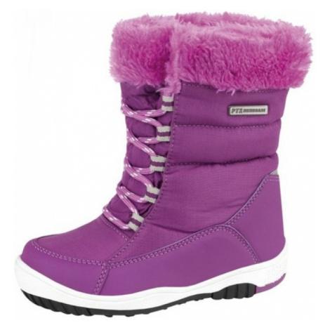 Dětská zimní obuv Alpine Pro VESTAL - fialová