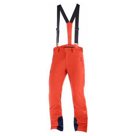Kalhoty Salomon Iceglory Pant - červená