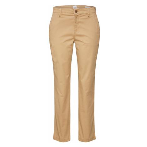 GAP Chino kalhoty 'GIRLFRIEND' světle hnědá
