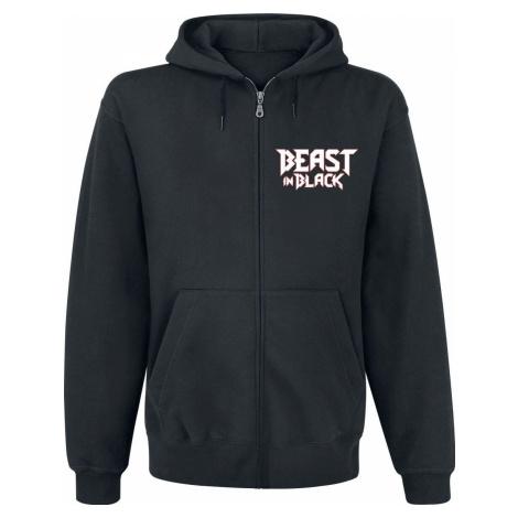 Beast In Black Blood Of A Lion mikina s kapucí na zip černá