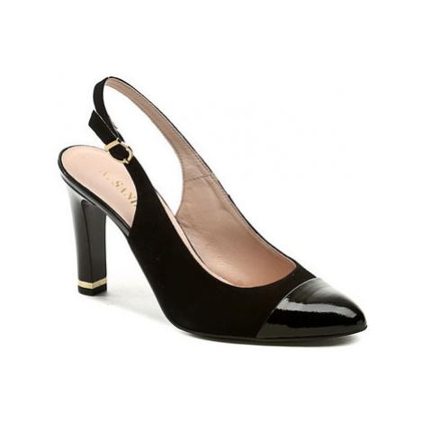 Italy Sandoni 078 černá dámská obuv Černá