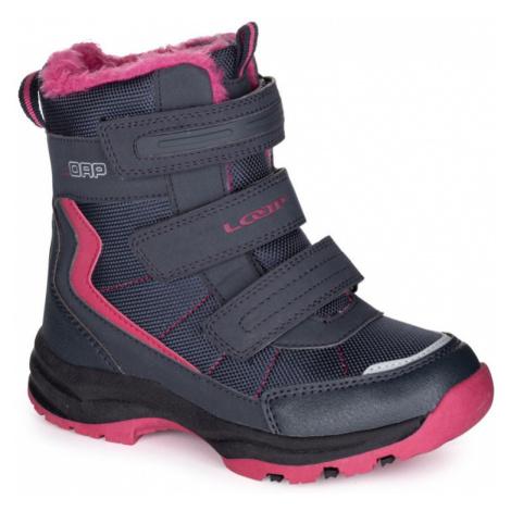 LOAP SNEEKY Dětské zimní boty KBJ1888M94J Night Sky | Pink