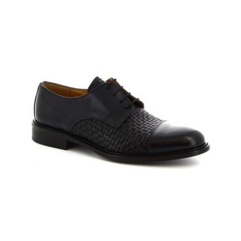 Leonardo Shoes 912BIS BLU Modrá
