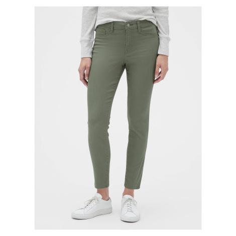 Jeans GAP Zelená
