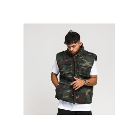 Urban Classics Ranger Vest camo zelená