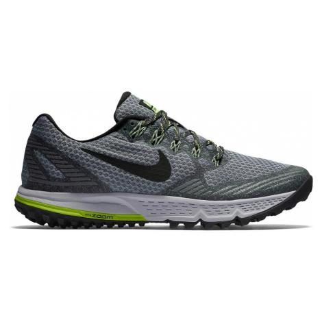 Dámské trailové boty Nike Air Zoom Wildhorse 3 Šedá / Zelená