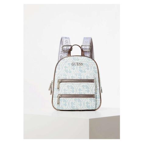 Guess dámský džínový batoh Monogram