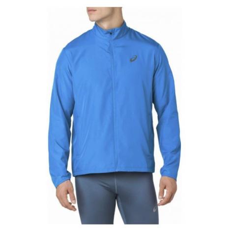 Asics SILVER JACKET modrá - Pánská běžecká bunda