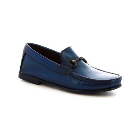 Leonardo Shoes 406 V. BLU Modrá