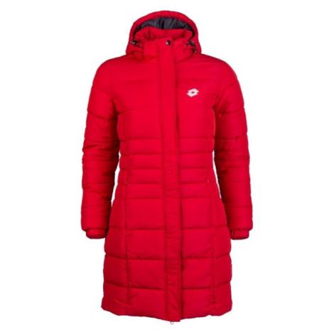 Lotto EDITH červená - Dámský prošívaný kabát