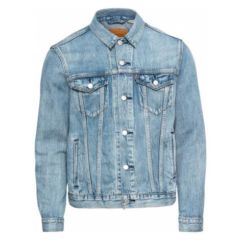 LEVI'S Přechodná bunda 'THE TRUCKER' modrá džínovina Levi´s