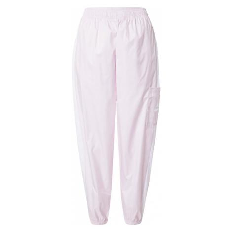 Nike Sportswear Kalhoty růžová / bílá