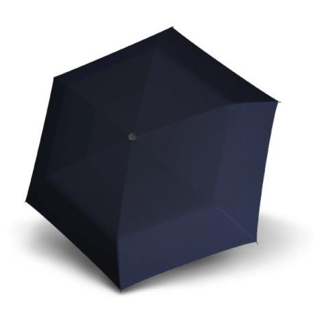 Modrý dámský mechanický skládací deštník Giana Doppler
