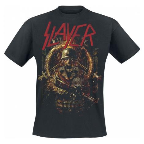 Slayer Comic Book Cover tricko černá