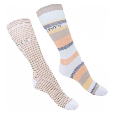 2PACK ponožky Levis vícebarevné (903026001 010) Levi´s