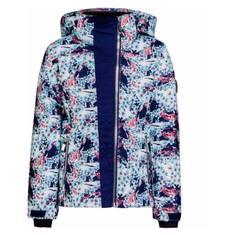 Lyžařská bunda Descente OLIVE modrá|vzorkování