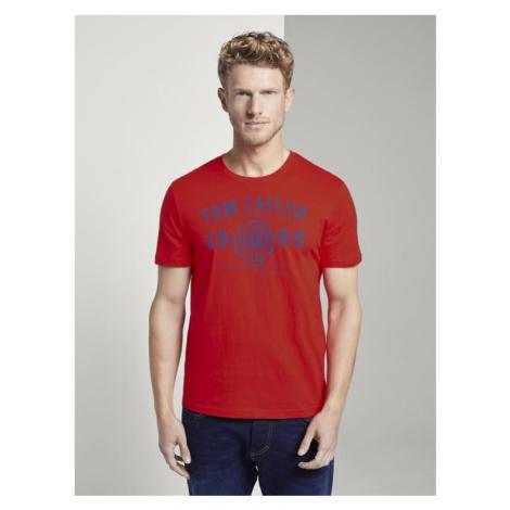 Tom Tailor pánské triko s logem 1008637/12880
