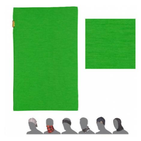MERINO WOOL Multifunkční šátek 202L0001 zelená UNI Sensor