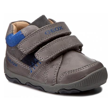 Kotníková obuv GEOX - B N.Balu' B. B B640PB 0CL22 C0069 Grey/Royal