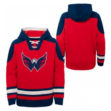 Dětská hokejová mikina s kapucí Outerstuff Ageless must have NHL Washington Capitals